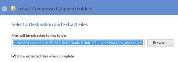 extract compressed folders